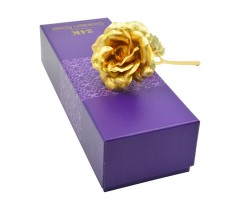 Valentines 24K Gold Rose