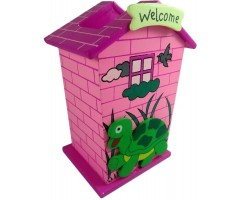 3 in 1 House Pencil Holder