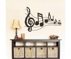 3D Stereo Musical Signs Home Decor