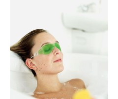 Summer Heat Protection Aloe Vera Cool Gel Eye Mask