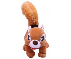 Brown Squirrel Soft Toy
