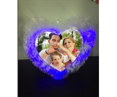 Valentines Customized Led light pillow