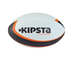 FULL H 300 Rugby Ball (White black Orange)