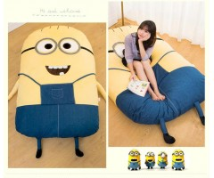 Giant Plush Cartoon Bed