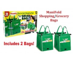 ManiFold Shopping/Grocery bags
