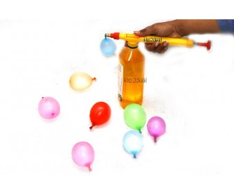 Holi 3 seconds Water Balloon Filler with Pack of 100 Balloon