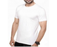 Holi Color Me White Cotton T shirt