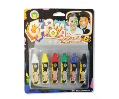 Jazz up Croma Colorful Body Painting