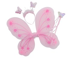 Princess Butterfly Wings (Pink)