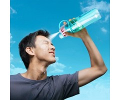 Summer creative 2 in 1 Mist spray water bottle