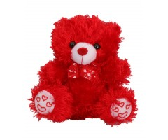 Teddy Bear (Red n Cream)