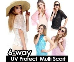 UV Protection Pashmina Scarf