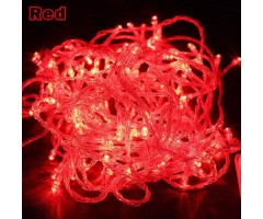Warm Fairy Lights Red color