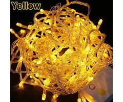 Warm Fairy Lights Yellow color